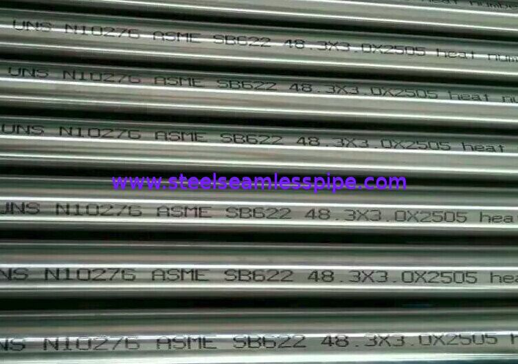 Welded Hastelloy Pipe & Tube ASTM B622 /B626, ALLOY B,B-2,UNS N10276,N06022,N06455,N10675,N06035,N06030,N06200