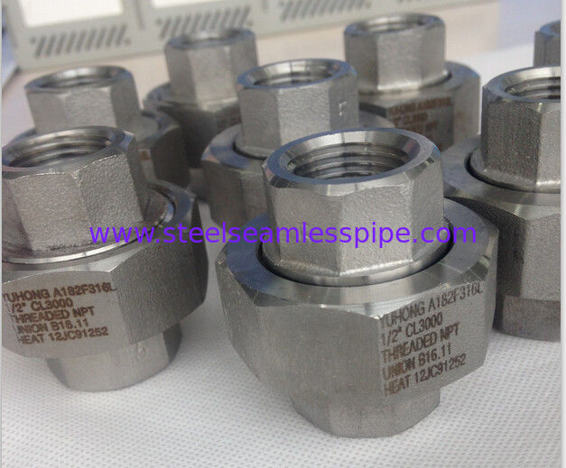 Stainless Steel Forged Fitting , ASME B16.11 , MSS SP-79 , And MSS SP-83. Superior Corrosion Resistance