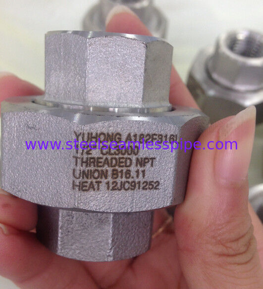 Stainless Steel Forged Fitting , A182 F304L , F316L , ASME B16.11,NPT,SW , 90°ELOW , 3000# , 6000# , 1/2""
