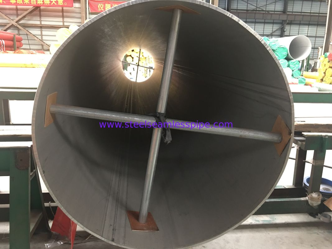 ASTM A358 Standard Ss Welded Pipe High Durability For Mining / Chemical Industry