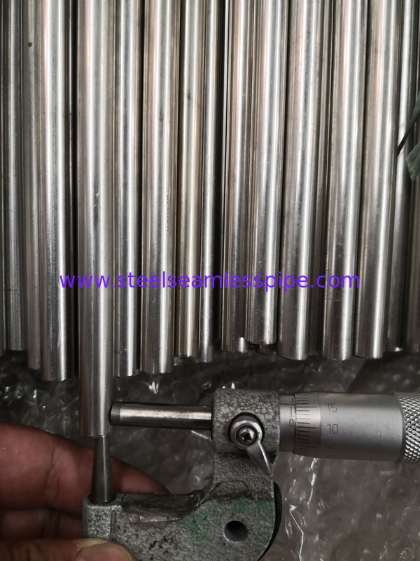 Plain End Stainless Steel Coiled Tubing ASME SA249 ASTM A249 TP316 / 316L 6.35 * 0.89MM