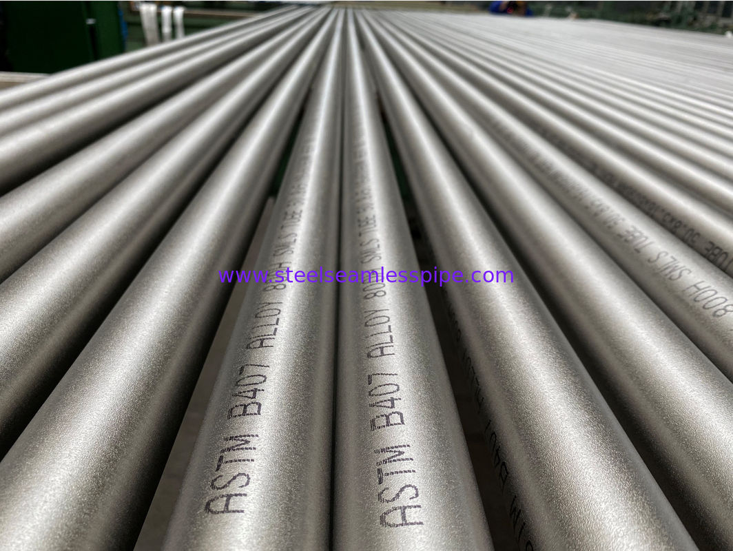Boiler ASTM B407 Alloy 800H Nickel Seamless Tube